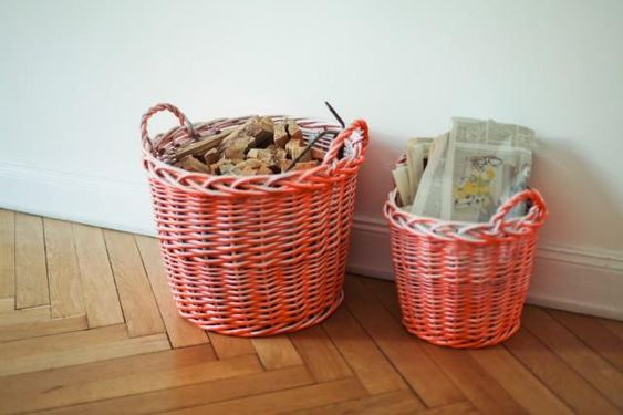 remember to paint the baskets
