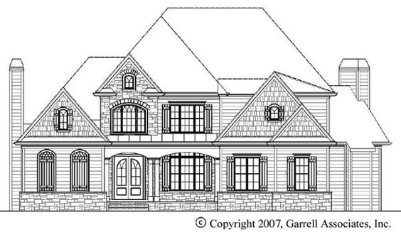 House Plan 699-00024 - European Plan: 3,182 Square Feet, 4 Bedrooms, 3.5 Bathrooms