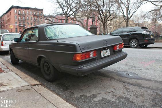 THE STREET PEEP: Murdered Merc - 1983 Mercedes-Benz W123 Coupe