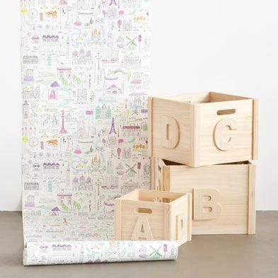 mon coup de coeur papier peint chez zara home sticker. Black Bedroom Furniture Sets. Home Design Ideas