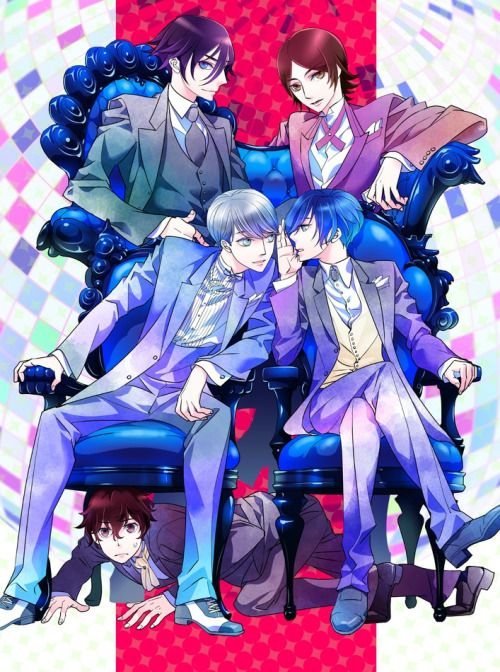 Source Pixiv Absolutely U Know The Joke Right Right Chair Kun Became Chair Xd Persona Persona Crossover Persona 5