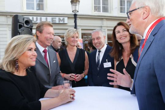 Royals: Grand Duke Henri and Grand Duchess Maria Teresa attended a recepcion for the Meet Luxembourg 2016 on September 1, 2016.