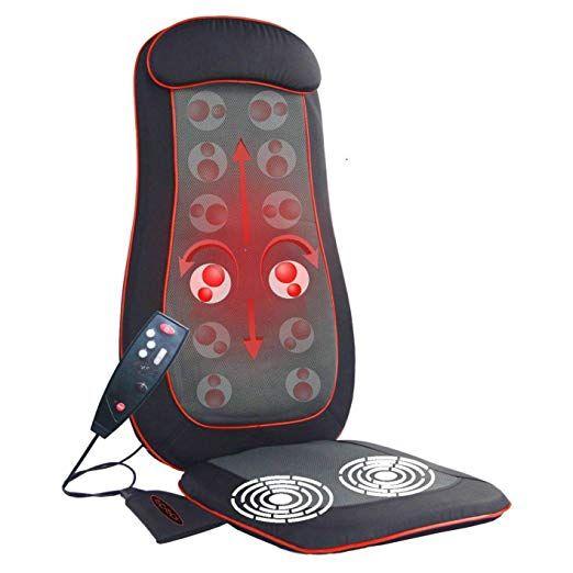 Amazon Com Idodo Shiatsu Back Massager Seat Cushion Massager