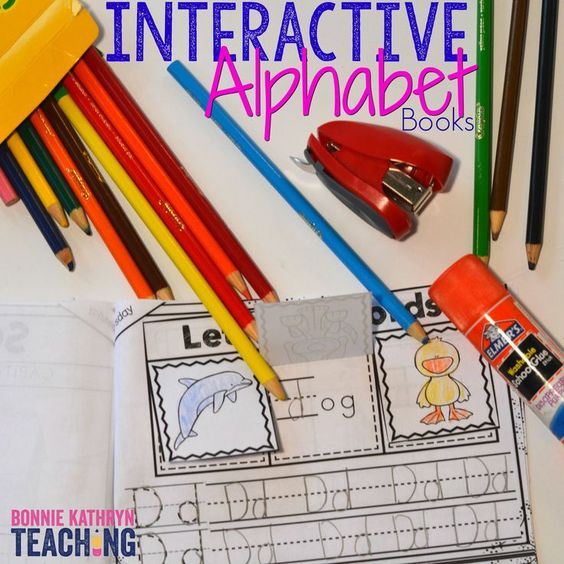 Do you have students who struggle with letter recognition and letter sounds? Learning letter sounds comes with repetition and engaging activities. Students love these interactive alphabet books!