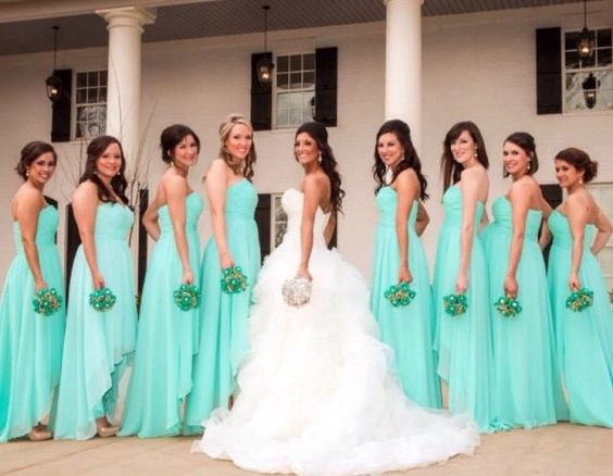 Best bridesmaids dresses on a perfect wedding