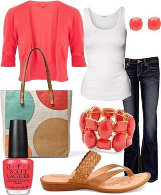 Love simple, great shopping outfit