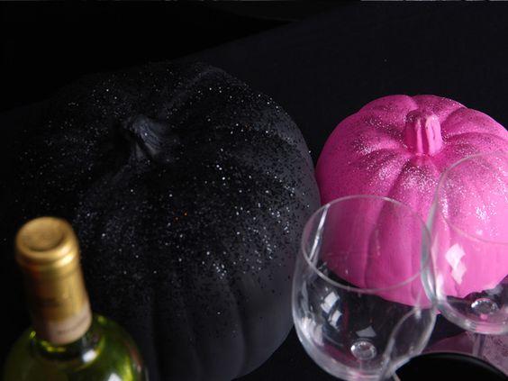 "What a fun girls Halloween night! It's ""Ghoul's Night""! {Pink & Black Halloween}"