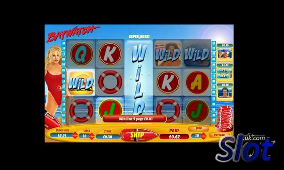 Hit a Wild in the Baywatch slot game at Slot.uk.com - http://www.slot.uk.com/slot-games/baywatch-slot/