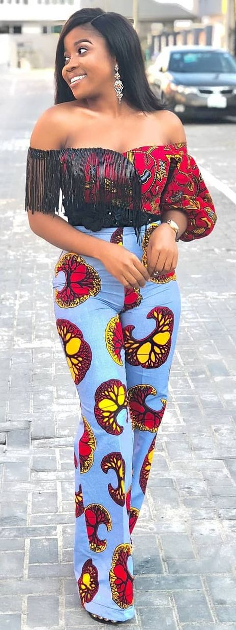 ankara styles top and down