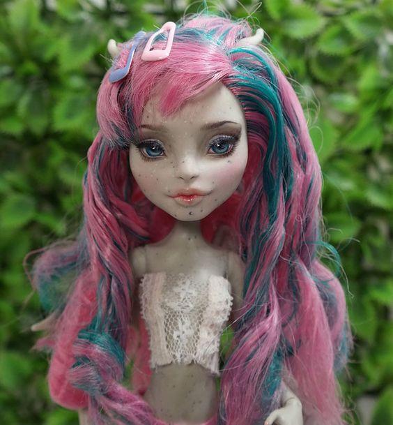 """11"""" 1/6 OOAK custom Mattel Monster high Rochelle Goyle doll Repaint by Yu #Dolls"""