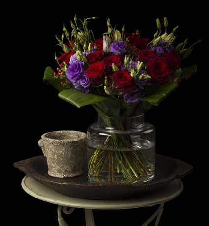 flowers online with vase