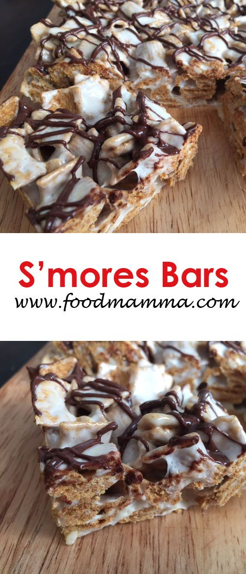S'mores bars are perfect anytime...without roasting marshmallows!