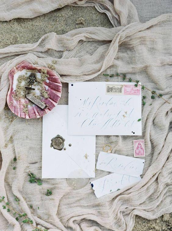Dreamy coastal bridal inspiration via Magnolia Rouge