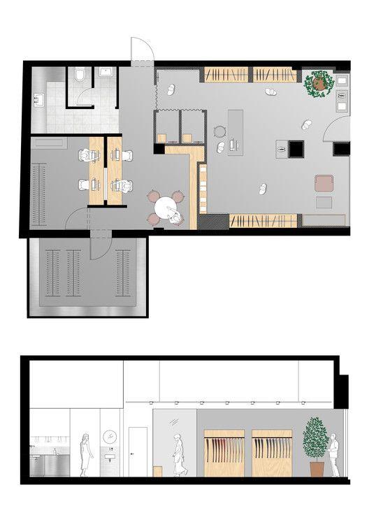 Gallery Of Kav Fashion Studio Keren Offner Ok Design 16 Studio Layout Design Studio