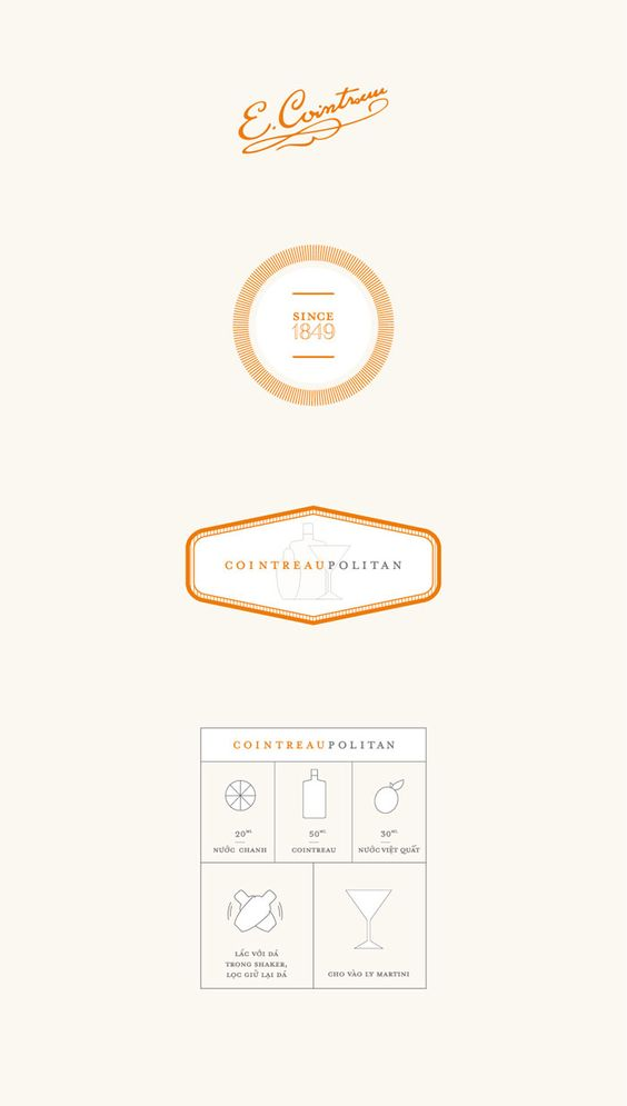 || Cointreau Limited Edition Pack :: Designed By Rice Creative :: via the dieliine