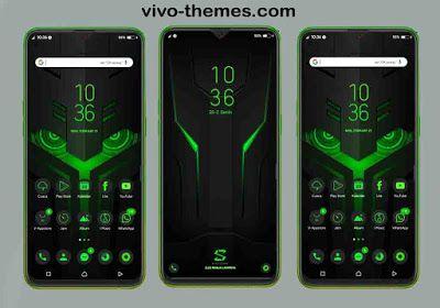 Black Shark Theme For Vivo Android Smartphone Themes For Mobile Android Smartphone Phone Themes