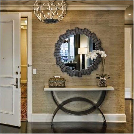 50 hall de entrada de casas modernas veja dicas de como - Ideas para entradas de casa ...