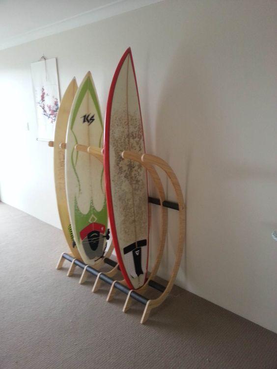 Freestanding surfboard rack - Surfing Shortboards - Seabreeze Forums!: