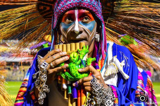 3 de Enero Canto a la tierra - Carnaval de Negros Y Blancos, San Juan de Pasto, Colectivo Coreográfico Indoamericanto...