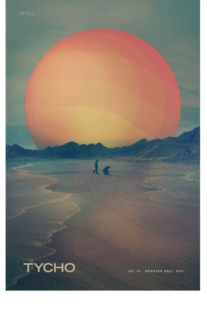 Tycho: Webster Hall (Studio Edition): Iso50 Posters, Cool Posters, Colorgraphic Designgraphic, Graphic Designers, Art Poster, Color Palette, Inspirational Art, Design Tycho