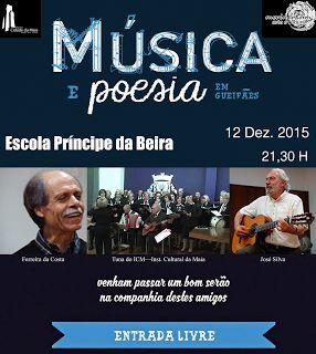 Chuviscos...: Música e Poesia em Guefães - 12 Dezembro 2015