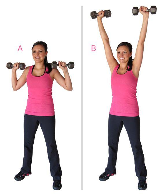 Image result for Strict Shoulder Press