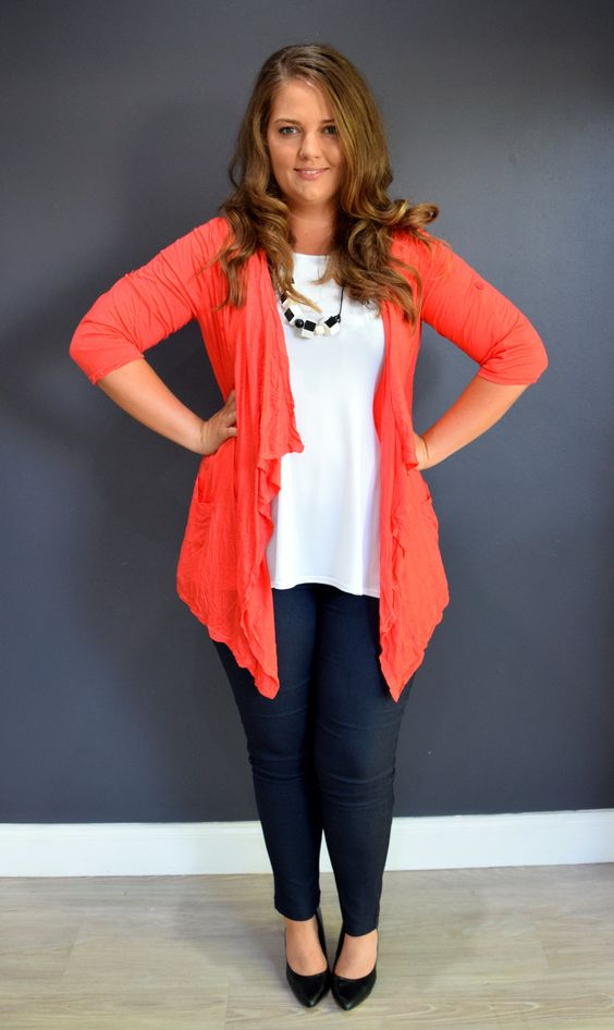 including plus sized cute tops, trendy shirts and unique blouses, full-figured dresses, women's skirts, plus-sized pants, cute shoes, and sexy intimates and classy accessories from casual to career for today's confident and fashion-forward curvy woman.