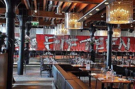"Jamie Oliver's restaurant ""Fifteen"" - Amsterdam"