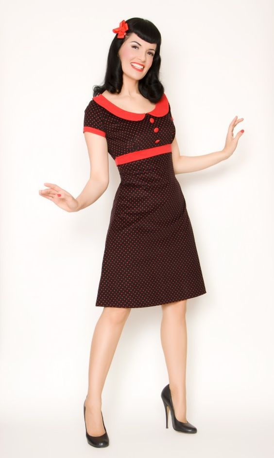 This model bugs me but I like the cute vintage dress