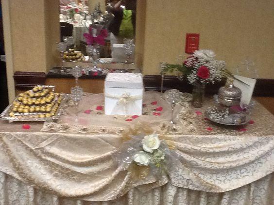 Table display of treats