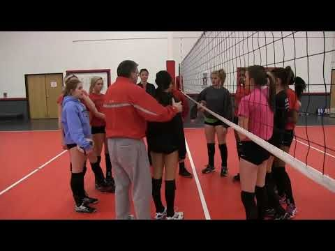 Jim Stone Basic Movements And Ball Control Pt 1 Youtube Volleyball Clubs Drill Ball