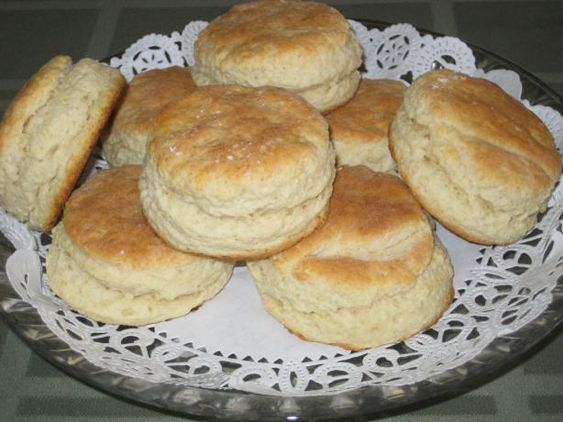 Basic Baking Powder Biscuits (Modified for Stand Mixers)  These are really good!!!!  I made them and baked them on top of a chicken stew and they were so good!  (You dont need to use the stand mixer.  Just a pastry blender)