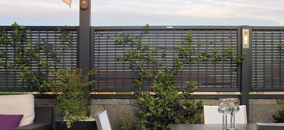 Celos as de exterior para terrazas y jardines en www - Vallas para casas ...