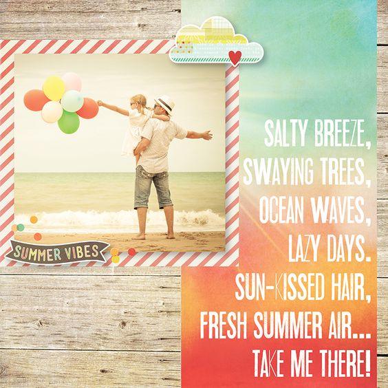 NEW!++Simple+Stories+Summer+Vibes - Scrapbook.com