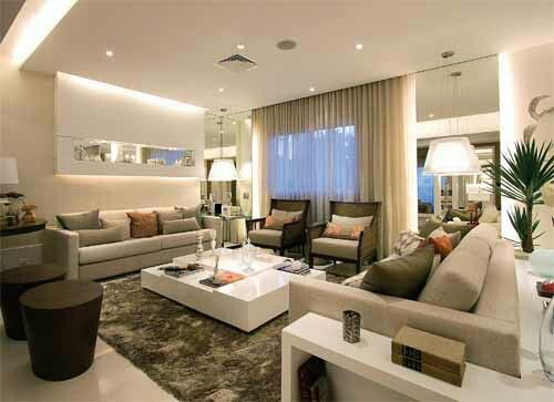 Sala grande gerciane pinterest for Salas grandes decoracion