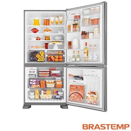 Imagem para Refrigerador Inverse Maxi de 02 Portas Frost Free Brastemp com 573 Litros Inox - BRE80 a partir de Fast Shop