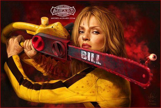 "Collection 2012. Achetez ""KILL BILL""  http://michelarchard.com  Copyright © 1981-2012 Michel Achard Artist:"