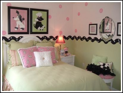 Girls Bedroom Ideas To Create A Beautiful Room For Your Little Girl! Two  Different Paint