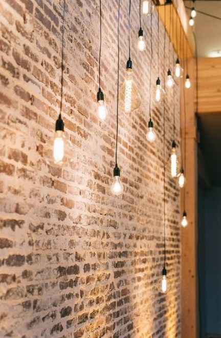 Trendy Lighting Ideas Living Room Rustic Brick Walls 46 Ideas