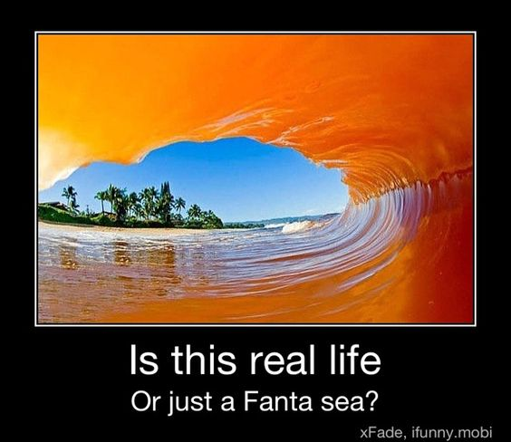 Fanta -- the big drink in my homeland.