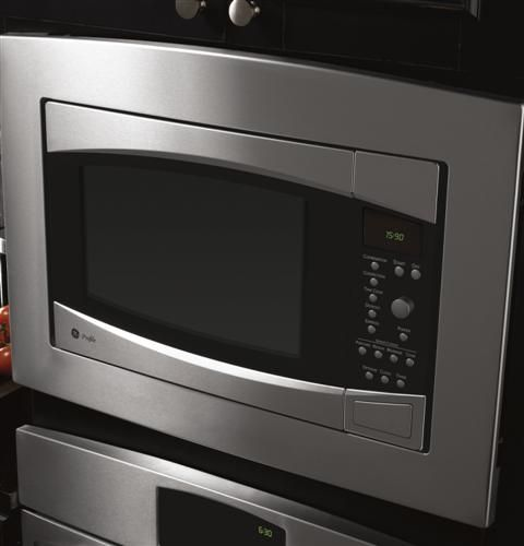peb1590smss ge profile series 1 5 cu ft countertop convection microwave oven ge. Black Bedroom Furniture Sets. Home Design Ideas