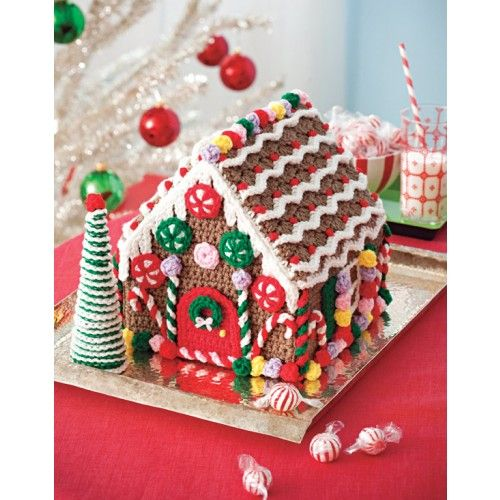 Gingerbread houses, Gingerbread and Crochet kits on Pinterest