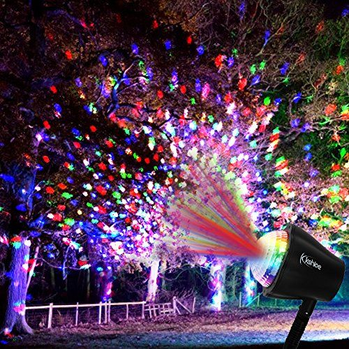 Christmas Kaleidoscope Led Projector Light By Kshioe Moonflower Star Lighting Indoor Outdo Led Projector Lights Indoor Christmas Lights Christmas Lights Inside