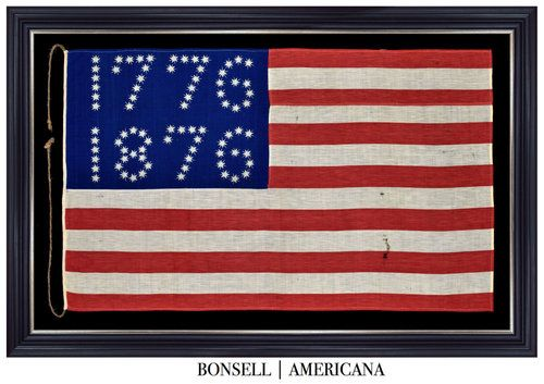 1776 1876 Antique Flag Flag Flag Company American Flag