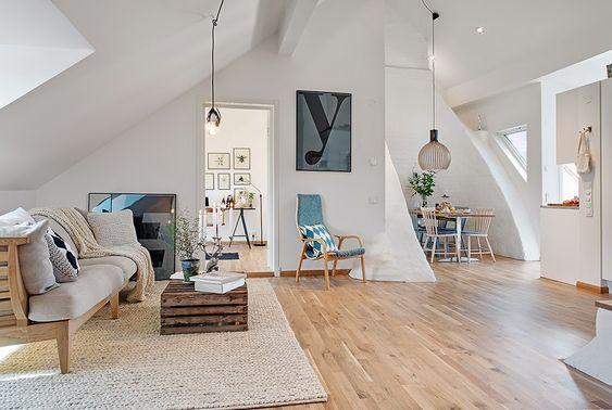 Diseno Nordico En Las Alturas Cozy Apartment Decor