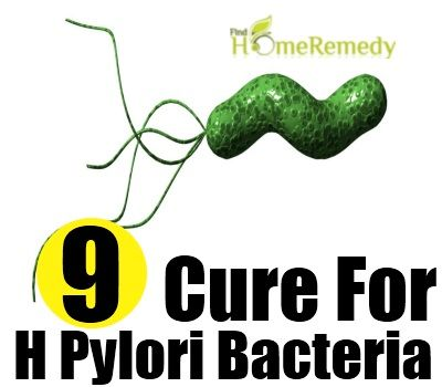 Natural Cure Helicobacter Pylori Infection