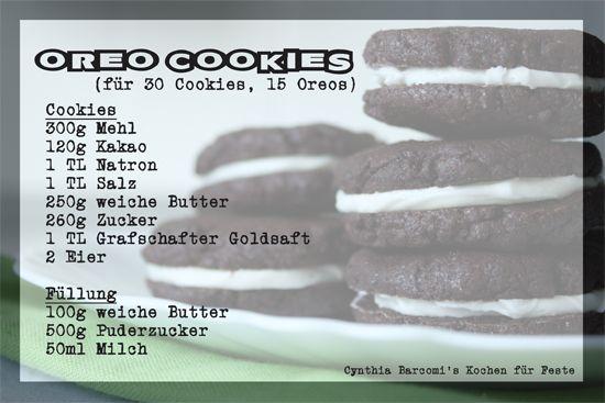 Elly's Art: Oreo Cookies