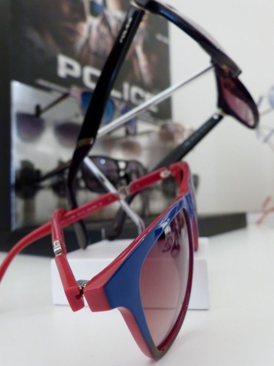 Police Eyewear at Network PR Press Day in Munich - http://olschis-world.de/  #Police #Eyewear
