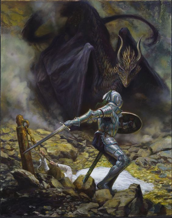 Donato Giancola - St. George and the Dragon