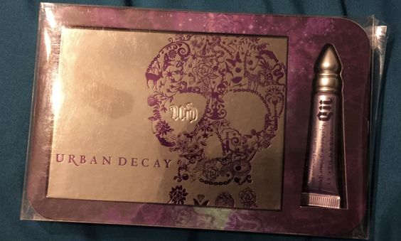 cute one Urban decay Ammo palette, my eyeshadow collection!